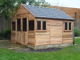 garden home office. Western Red Cedar Greenhouse With Euro Rubber Roof Garden Home Office