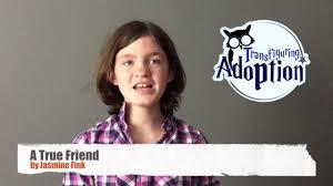 A True Friend by Jasmine Fink - YouTube