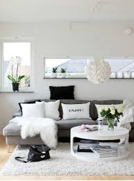 Best solutions Of Gray Black and White Living Room Also Home Decoration  Designs Create A Black