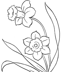 Small Picture Spring Flowers Colouring Pages Photo Crafts Pinterest Spring
