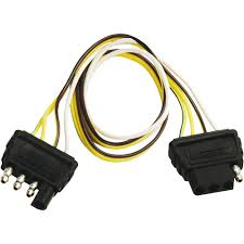 double ended 4 way flat extension harness