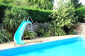 in ground pools with slides. Inground Pool Slides For Sale Home Back To Swimming In Ground Pools With E