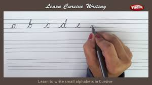 Cursive Writing Writing Small Alphabets In Cursive Alphabets In Cursive Letters