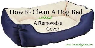 dog bed with removable cover. Wonderful With How To Clean A Dog Bed Without A Removable Cover Throughout With N