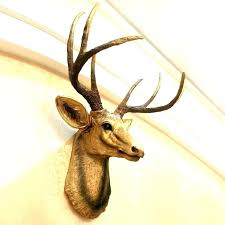 stags head wall decoration stag head wall decoration deer mount decor large white stags head wall stags head wall decoration