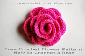 Small Crochet Flower Pattern Interesting Decoration