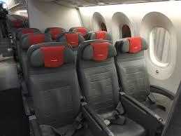 norwegian economy mini cabin between doors 1 and 2 photo blaine nickeson airlinereporter