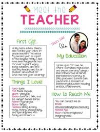 Meet The Teacher Letter Templates Meet Letter Magdalene Project Org