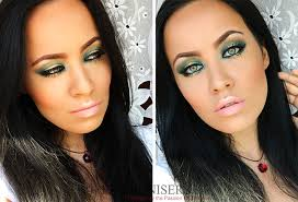 emerald green gold makeup tutorial