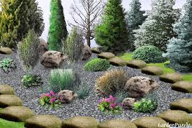 Garden Design with Rock garden GardenPuzzle online garden planning tool  with Landscape Ideas With Rocks from