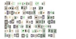 ransom letter generator ransom note generator boing boing