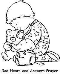 The Lords Prayer Coloring Pages Print Jokingartcom The Lords