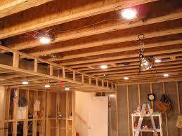 lighting a basement. Best Pot Lights For Basement Lighting A B