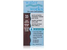 Waterworks Water Activated Permanent Powder Hair Color 33
