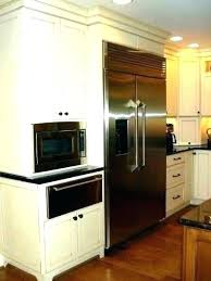over the range microwave inch depth deep counter cabinet best countertop 18