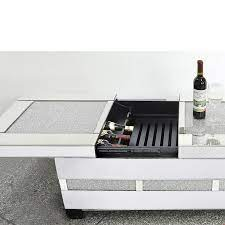 coffee table with wine storage off 71