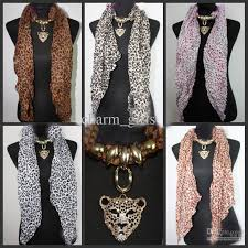 leopard head pendant scarf leopard jewelry necklaces scarf crystal jewellery scarves fashion leopard print scarf silk scarves uk mens silk scarf from