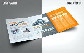 Template Brosur Fold Brochure Template Brosur Psd Free Tri Bhimail Co