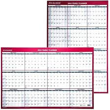 dry erase wall calendar at a glance yearly planner dry erase wall calendar staples