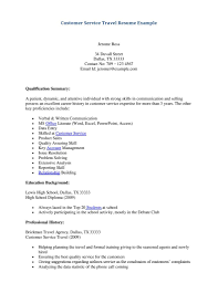 Customer Service Resume Objective Statement For Freshers
