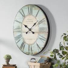 Oversized 29u0027u0027 Oval Wall Clock