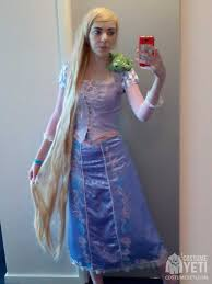diy rapunzel from tangled costume