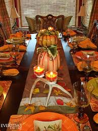 Fall Table Scapes Tablescape Tuesday Falling Leaves
