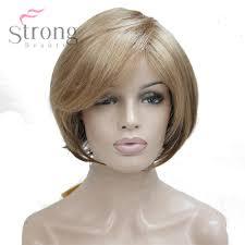 Us 351 22 Offstrongbeauty Vrouwen Pruiken Synthetisch Haar Bordeauxblonde Korte Bob Kapsel Natuurlijke Pruik In Strongbeauty Vrouwen Pruiken