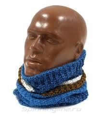 <b>Шарф Buff Knitted&Polar</b> Neckwarmer Teal Blue, арт. 117861.706 ...