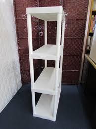 plano plastic shelving unit