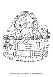 Pasen Mand Kleurplaat Pasen Kleurplaten Kids Easter Colouring