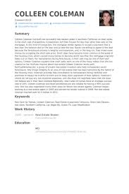 ... Chic And Creative Real Estate Broker Resume 3 Real Estate Broker Resume  Samples ...