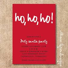 secret santa invitations