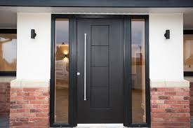 black rock door bination frame