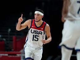 Devin Booker earns 1st gold medal, US ...