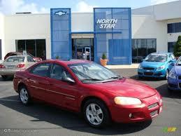2001 Inferno Red Tinted Pearl Dodge Stratus ES Sedan #13080659 ...