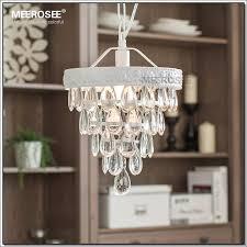 vintage mini glass chandelier light fixture cottage white suspension lamp hanging light for dining room porch aisle md2481