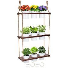 brick beetle hanging plant shelf