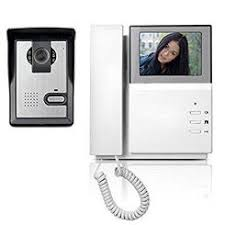 front door intercomFront Door Camera Intercom With Monitor