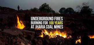 Image result for jharia coal fire