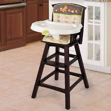 high chairs luxury summer infant classic fort wood high chair fox