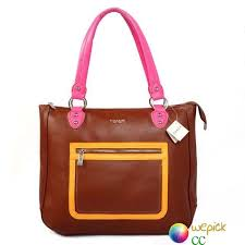 Coach Signature Medium Satchels Fashion Brown