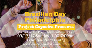 Image result for Project Capoeira Presents: Brazilian Day Philadelphia 2017 Part of the PECO Multicultural Series 1 PM - 7 PM September 17, 2017 Penn's Landing, Great Plaza Free Family Fun!