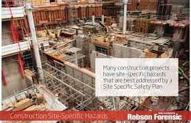 Site Safety Plans Construction Project Site Specific Safety Plans Expert Article