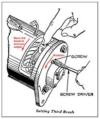 delco remy 6 volt generator wiring diagram wiring diagram and how to determine internally or externally grounded allischalmers steering linkage diagram