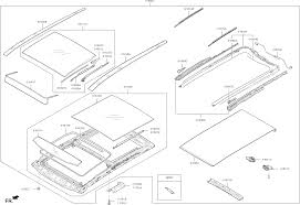 81673c5000 genuine kia cover panoramar white kia optima 2013 sunroof kia sunroof diagrams