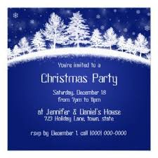 White Christmas Invitations Blue And White Christmas Party Invitations On Popscreen