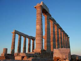 Αποτέλεσμα εικόνας για Poseidon temple at Sounion