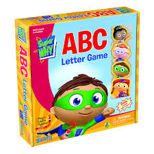 Amazon Com Super Why Abc Letter Game Toys Games