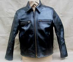 suburban horsehide leather jacket 1940s lost worlds